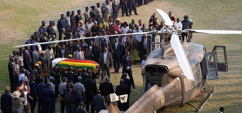 ZIMBABWES EX-PRESIDENT TO BE BURIED AT NATIONAL SHRINE