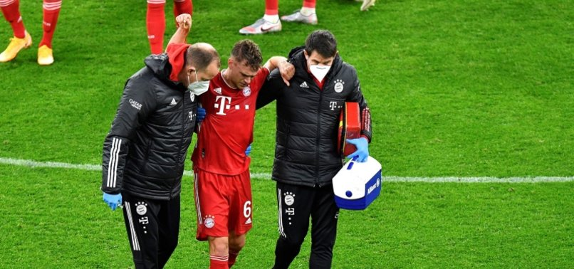 BAYERNS KIMMICH OUT UNTIL JANUARY AFTER KNEE OPERATION