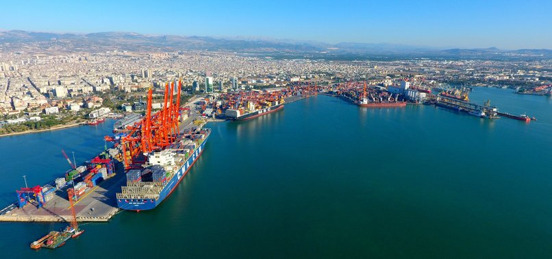 TURKEYS FOREIGN TRADE VOLUME UP 3.6% IN Q1