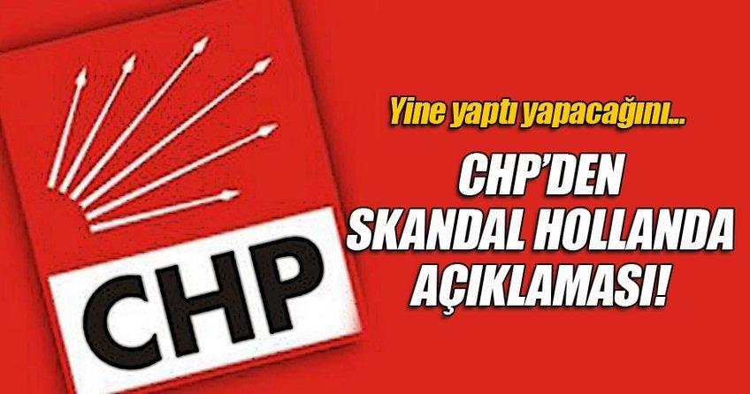 CHP yine yaptı yapacağını!