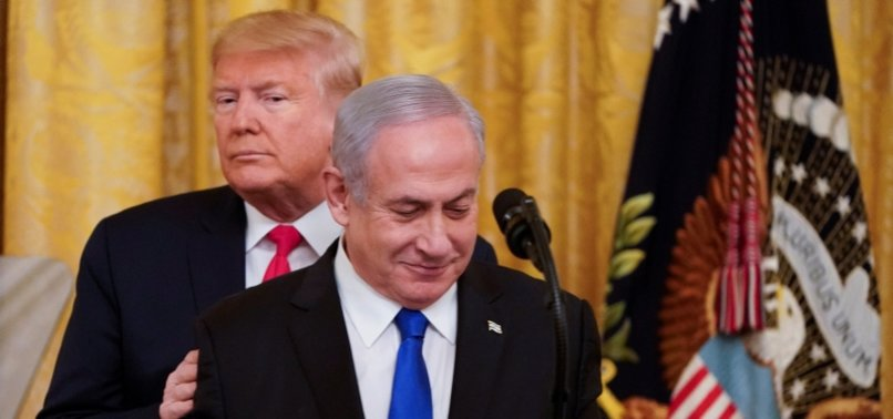 UNITED STATES IS THE ONLY COUNTRY THAT PUTS ITS SUPPORT BEHIND ISRAEL'S WEST BANK ANNEXATION PLAN