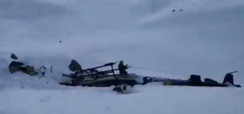 5 DIE IN CRASH OF PLANE, HELICOPTER OVER ITALIAN GLACIER