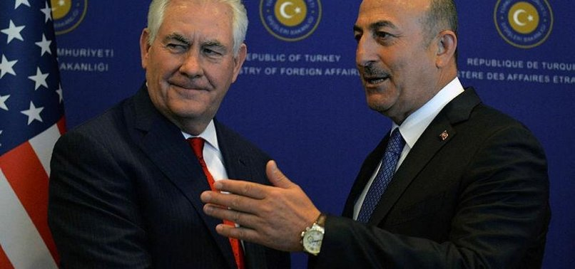 TURKISH FOREIGN MINISTER TALKS TO US COUNTERPART