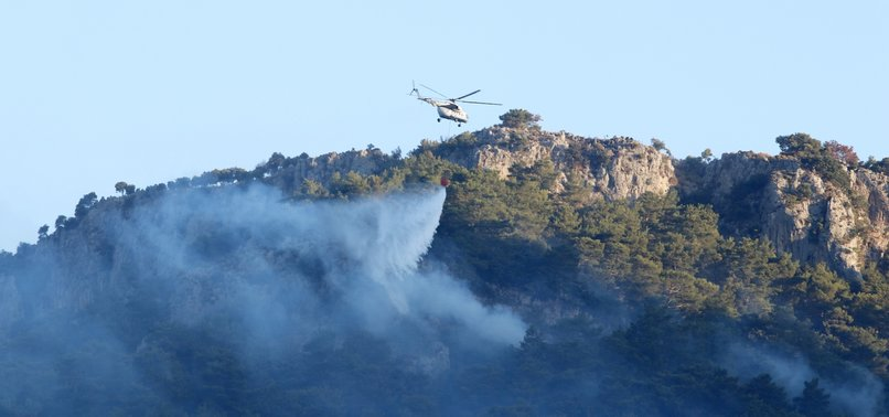 WITH FIRE CONTAINED, POPULATED AREAS IN SW TURKEY SAFE