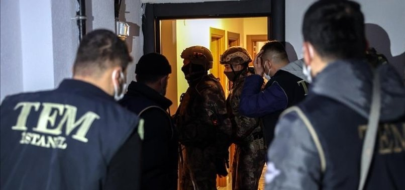 DAESH/ISIS TERROR SUSPECTS NABBED IN ISTANBUL