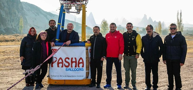 1ST TURKISH-MADE HOT AIR BALLOON TAKES OFF IN CAPPADOCIA