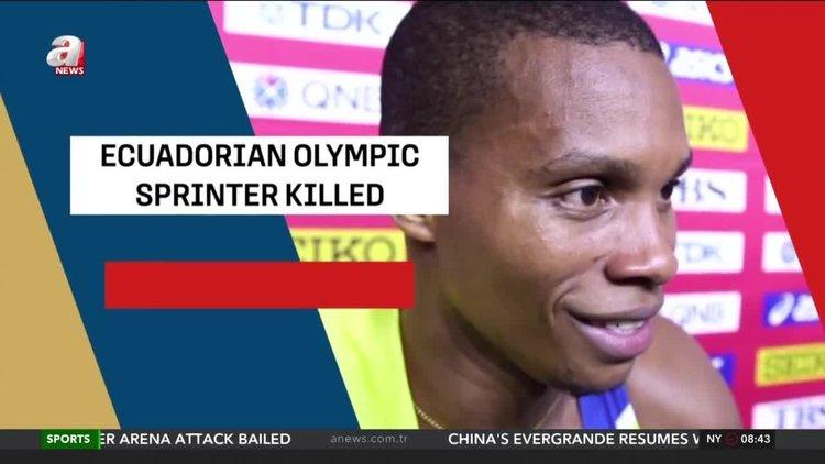 Ecuadorian olympic sprinter Quinonez killed