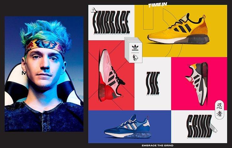 adidas Originals x Ninja' dan Embrace The Grind