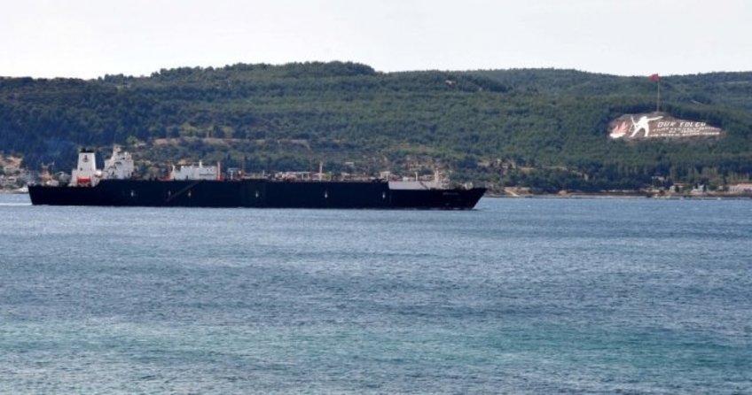 Çanakkale Boğazı'nın Marmara Denizi girişinde ki kaza ucuz atlatıldı