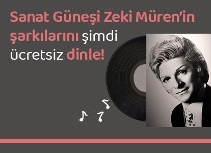 Sanat Güneşi Zeki Müren'in  şarkılarını şimdi  ücretsiz dinle!
