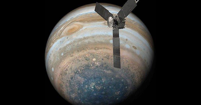 NASA Jüpiterin yeni görüntülerini yayımladı