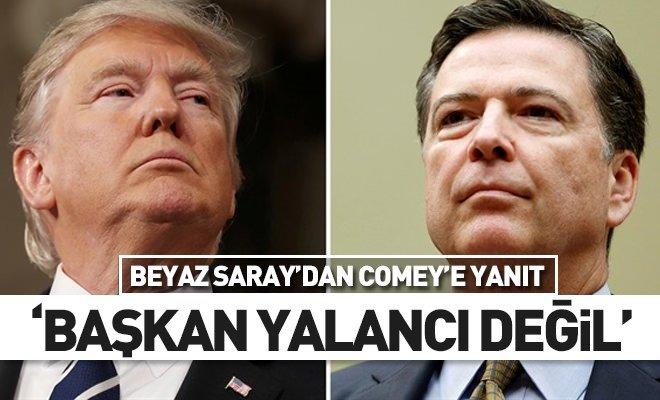 Beyaz Saray'dan Comey'ye yalancı yanıtı