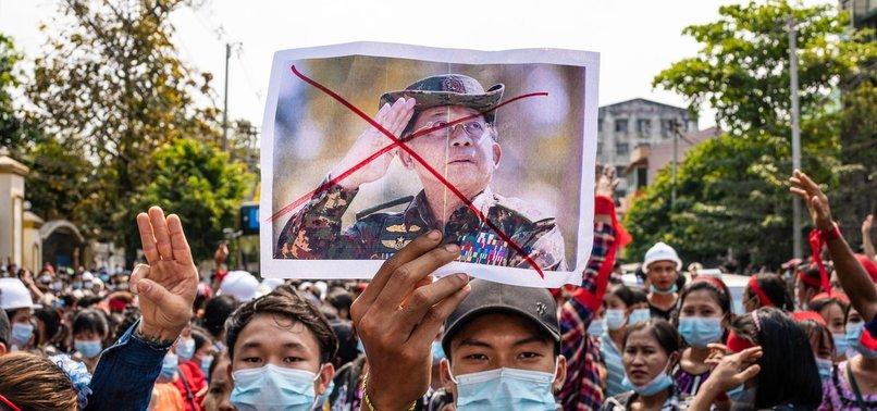 US SANCTIONS 2 MYANMAR GENERALS OVER PROTEST RESPONSE