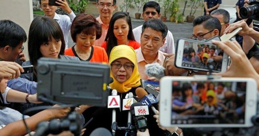 Halimah Yacob, Singapurda ilk kadın Cumhurbaşkanı olacak