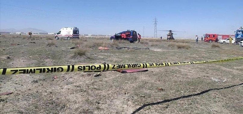 TURKISH PILOT MARTYRED IN MILITARY PLANE CRASH
