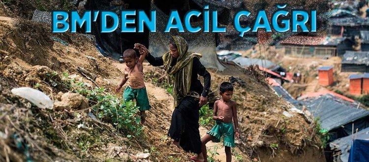 BM'den Arakanlı Müslümanlar için 430 milyon dolar acil yardım çağrısı