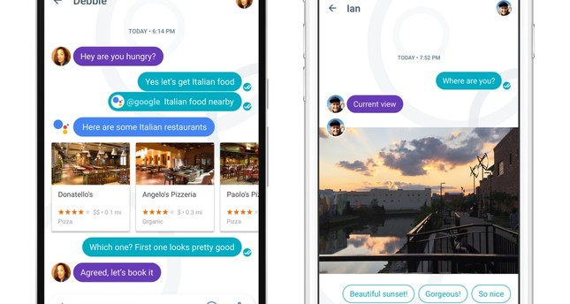 Google's bid for smarter messaging hits market