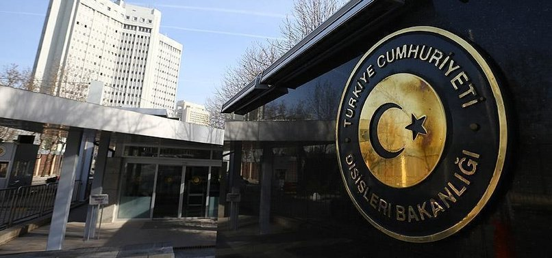 TURKISH ANTI-TERROR OPERATIONS CONTRIBUTE TO EUS SECURITY, MFA SAYS IN REBUKE TO REPORT