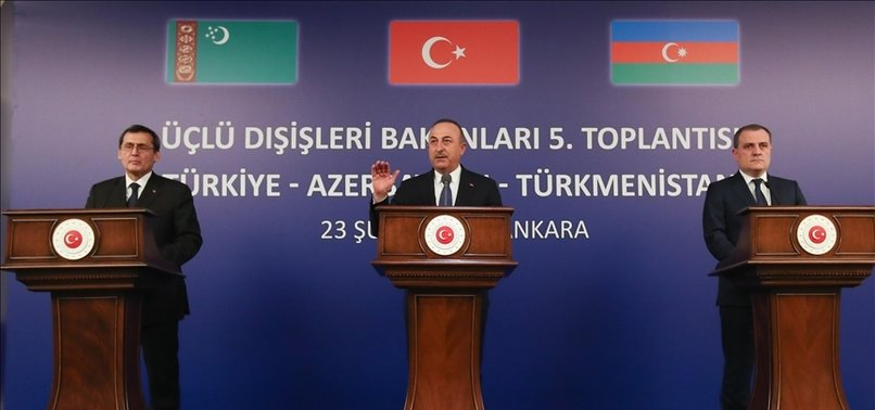 'TURKEY, AZERBAIJAN, TURKMENISTAN COOPERATION BENEFITS REGION'