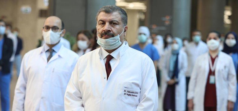 TURKEYS ACTIVE NOVEL CORONAVIRUS CASES FALL TO 30,000 - MINISTRY