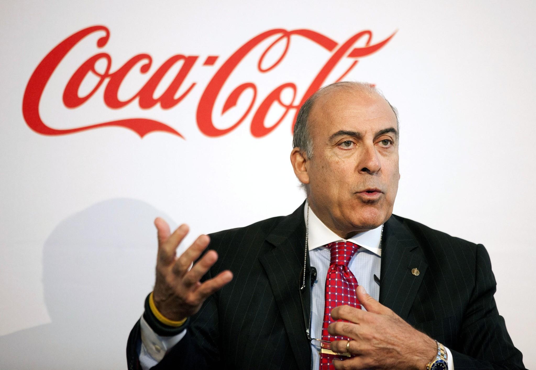 Coca-Cola CEO Muhtar Kent speaks during a news conference in Atlanta. Coca-Cola said Friday, Dec. 9, 2016 (AP Photo)