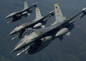 TSK'dan Kuzey Irak'a hava operasyonu!