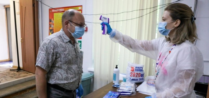 RUSSIA REPORTS MORE THAN 6,300 NEW CORONAVIRUS INFECTIONS