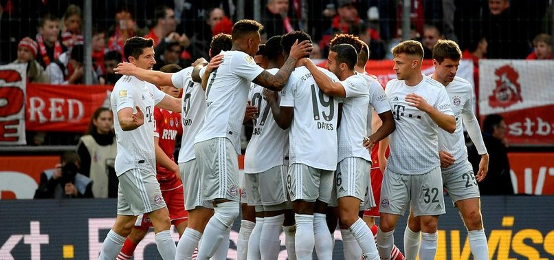 BAYERN BACK ON TOP IN GERMANY AFTER BEATING COLOGNE 4-1