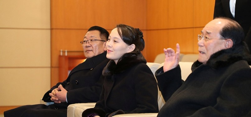 KIM JONG UNS SISTER ARRIVES IN SOUTH KOREA FOR OLYMPICS