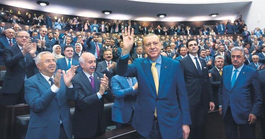 Cumhurbaşkanı Erdoğan AK PArti Grup Toplantısı'nda konuştu