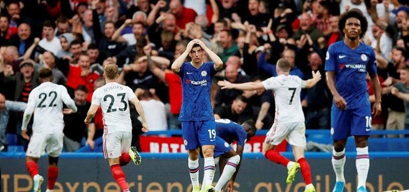 CHELSEA WASTE TWO-GOAL LEAD TO DRAW 2-2 WITH SHEFFIELD UTD