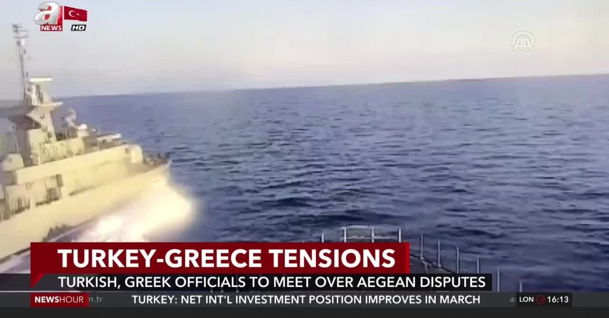 Turkish, Greek officials to meet over Aegean disputes - anews