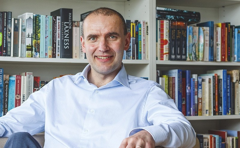 File picture dated 12 May 2016 of Icelandic presidential hopeful Gudni Th. Johannesson at his home in Seltjarnarnes, Iceland. (EPA Photo)