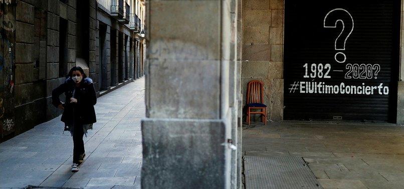 SPAIN SEES SLIGHT UPTICK IN NEW CORONAVIRUS CASES
