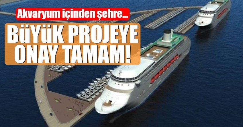 Antalya'nın dev projesinde onay tamam!