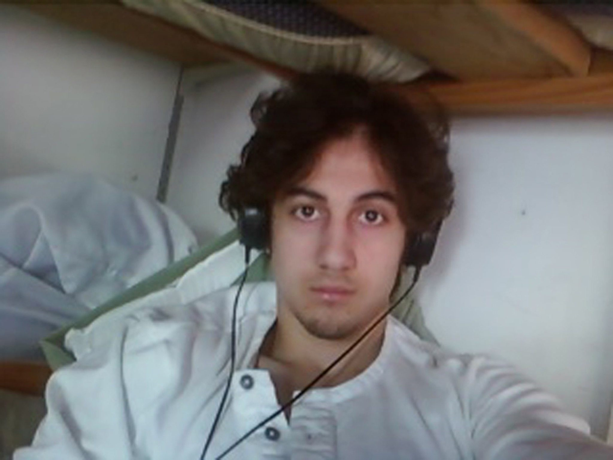 This handout image, courtesy of the US Department of Justice/US Attorneyu2019s Office u2013 District of Massachusetts shows Dzhokhar Tsarnaev, convicted bomber of the Boston Marathon on April 15, 2013. (AFP Photo)