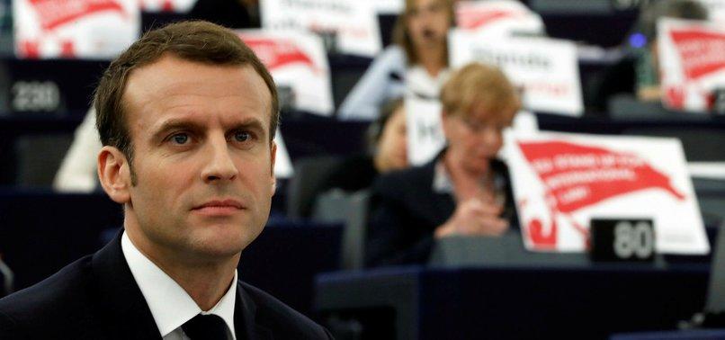 FRANCES MACRON WARNS EUROPE AGAINST AUTHORITARIANISM