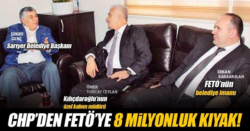 CHP'den FETÖ'ye 8 milyonluk ihale kıyağı!