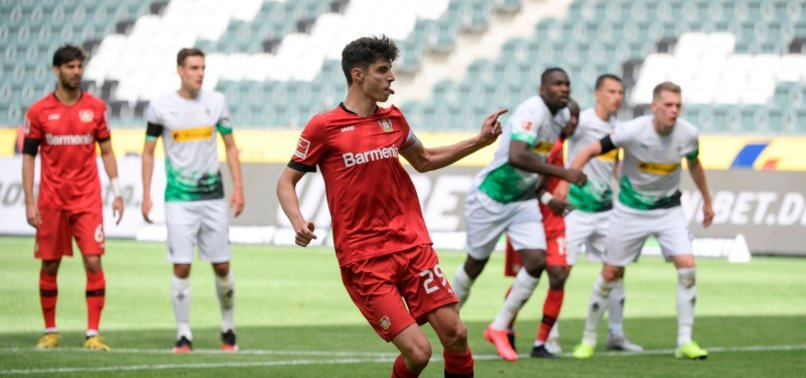 HAVERTZ BRACE TAKES IMPRESSIVE LEVERKUSEN THIRD