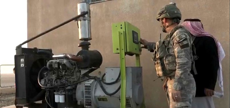 TURKEY RESTORES ELECTRICITY IN YPG/PKK TERROR-HIT AREA