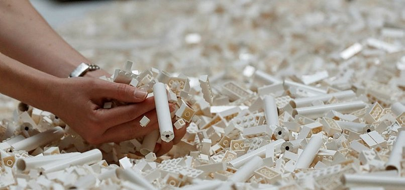 LEGOS LYING AROUND? TOYMAKER TESTS WAY TO RECYCLE BRICKS