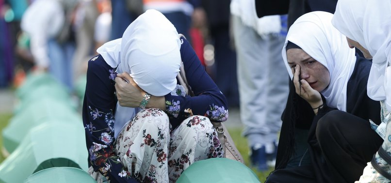 BOSNIAN MUSLIMS MARK 24TH ANNIVERSARY OF SREBRENICA MASSACRE