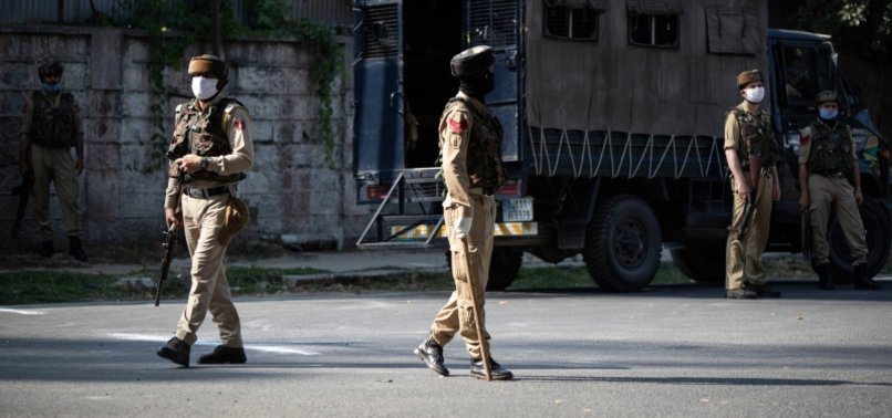 LOCKDOWN IN KASHMIR ON INDIAS INDEPENDENCE DAY