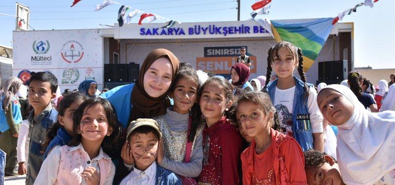 TURKISH VOLUNTEERS RETRIEVE LOST CHILDHOOD OF SYRIANS