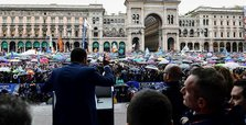 Fascist symbols and rhetoric on rise in Italian EU vote