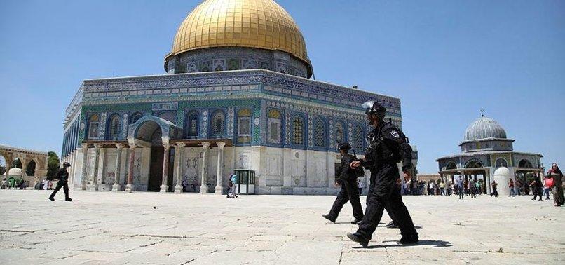 ISRAEL ARRESTS 3 EMPLOYEES OF AL-AQSA MOSQUE COMPLEX