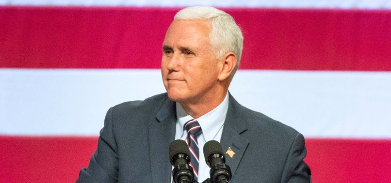 VICE PRESIDENT PENCE SAYS CHINA INTERFERING IN U.S. POLITICS