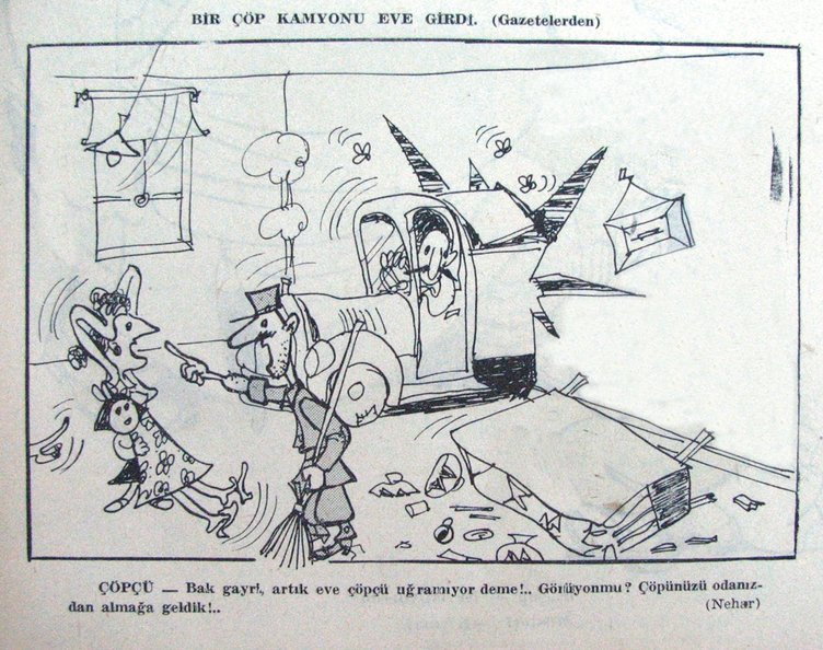 100 yıllık karikatürlerle: