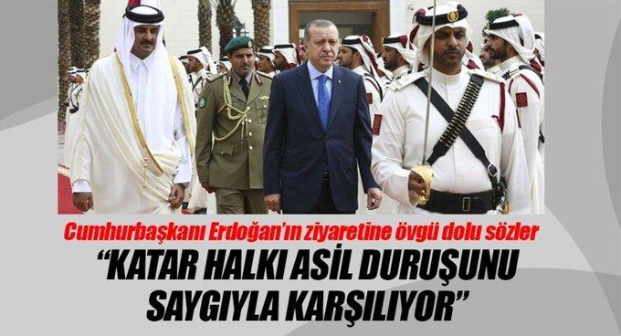 Cumhurbaşkanı Erdoğana övgü dolu sözler