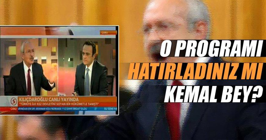 O programı hatırladınız mı Kemal bey?